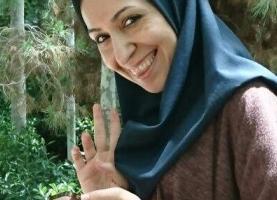 سارا خلیلی بانوی انیمیشن ساز با توران ولی مراد در باهمستان