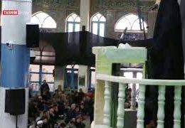 سخنرانی دختر شهید قاسم سلیمانی در نماز جمعه کرمان
